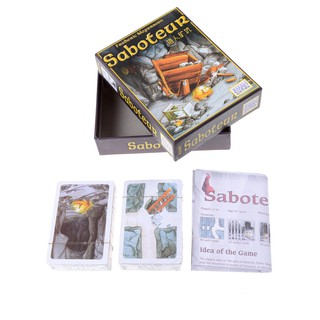 Family Friend Party Game Board Set Saboteur Card Game