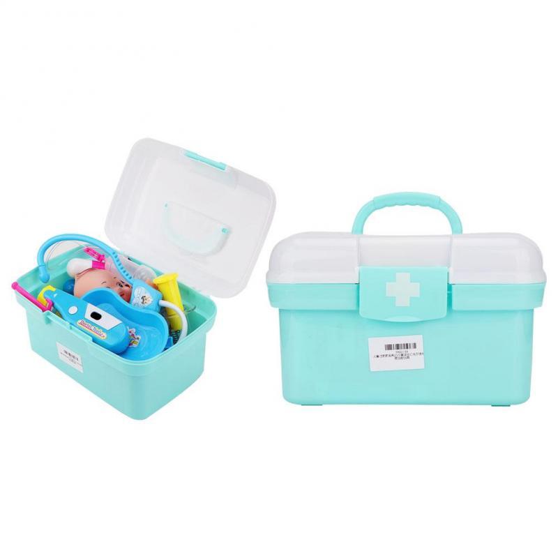 Henye Puzzle Doctor Medical Toy Set Nurse Kids Children Role Play Pretend Kit Set
