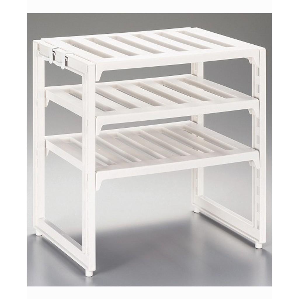 Kệ để nồi chảo 3 tầng nhà bếp có điều chỉnh độ dài (màu trắng) hàng nhật - 2563570 , 628627862 , 322_628627862 , 389000 , Ke-de-noi-chao-3-tang-nha-bep-co-dieu-chinh-do-dai-mau-trang-hang-nhat-322_628627862 , shopee.vn , Kệ để nồi chảo 3 tầng nhà bếp có điều chỉnh độ dài (màu trắng) hàng nhật