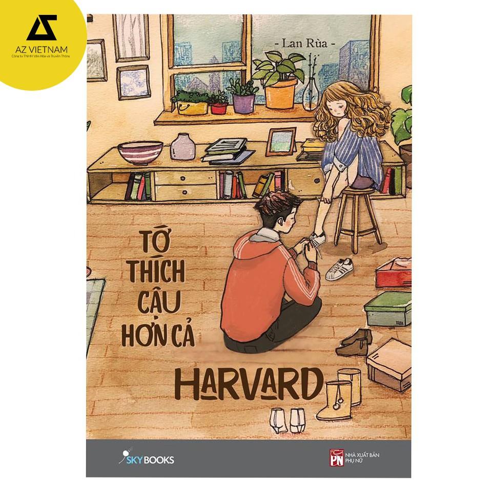 [Mã LIFEAZ1510 giảm 10% đơn 150k] Sách - Tớ Thích Cậu Hơn Cả Harvard(Bản thường tặng kèm bookmark)