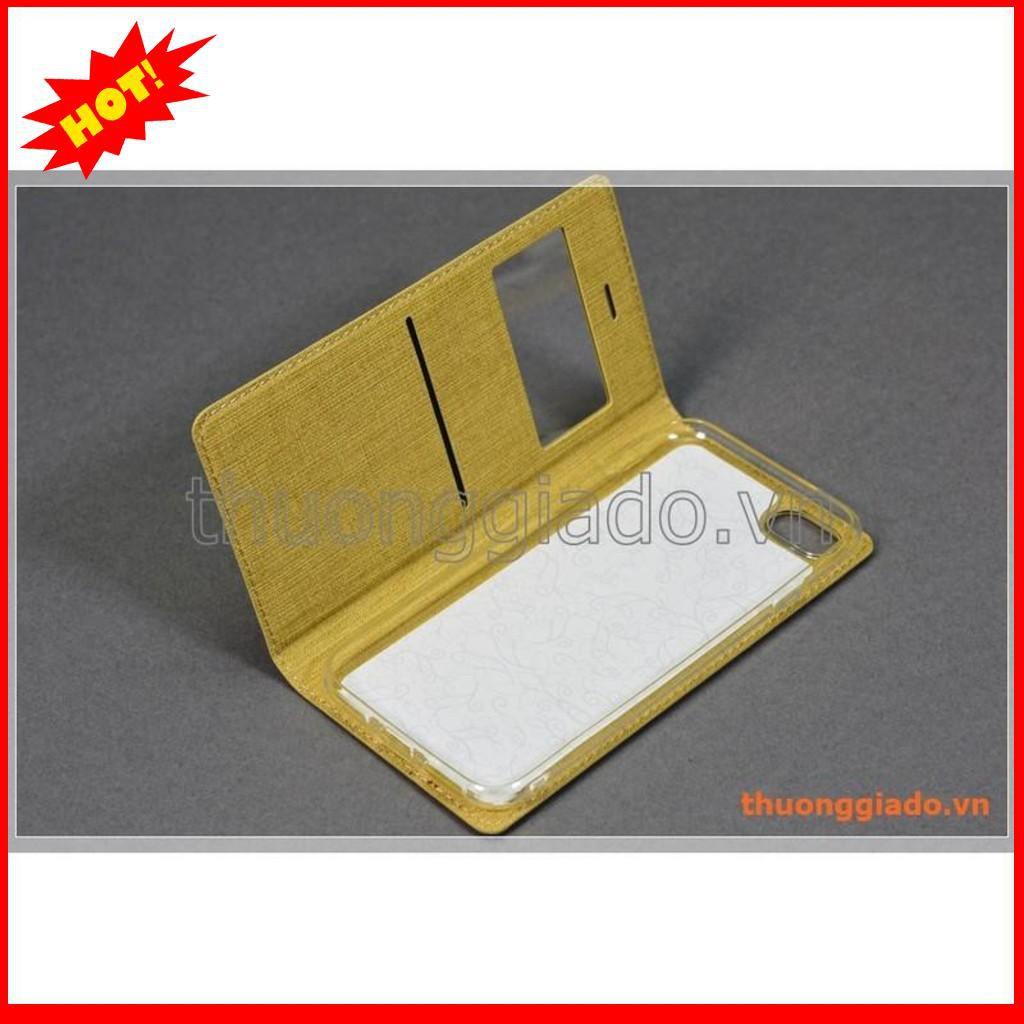 Bao da iPhone 7 (4.7″), iPhone 8 (4.7″) flip leather case, có cửa sổ, hiệu Vili – BẮC TỪ LIÊM
