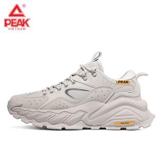 Giày Sneaker Thể Thao Nam Dã Ngoại Peak E11931G Chính Hãng, Công nghệ Taichi cực êm, Kiểu dáng thời trang cực chất
