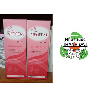 Dung dịch vệ sinh phụ nữ Neofem pH Care (MỚI) 1