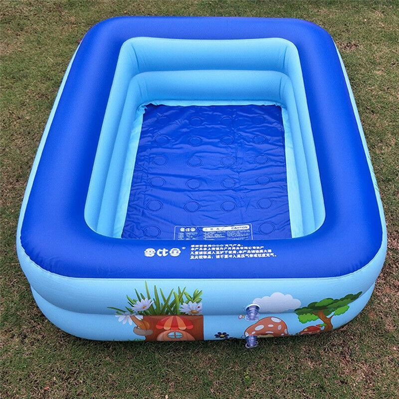 Summer Pool Swimming Ring Inflatable Swim Toys Float Water Sport For Baby