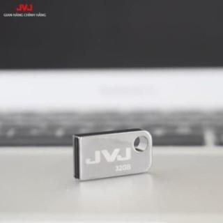 USB 32G/64GB/16GB/8GB/4GB JVJ FLASH S2 siêu nhỏ gọn vỏ kim loại - USB chống nước 2.0 tốc độ upto 100MB/s BH 2 Năm