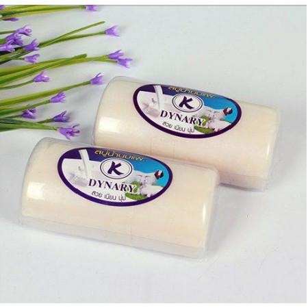 Xà bông cám gạo, sữa dê thái lan - giúp làn da trắng sáng mịn màng 100g