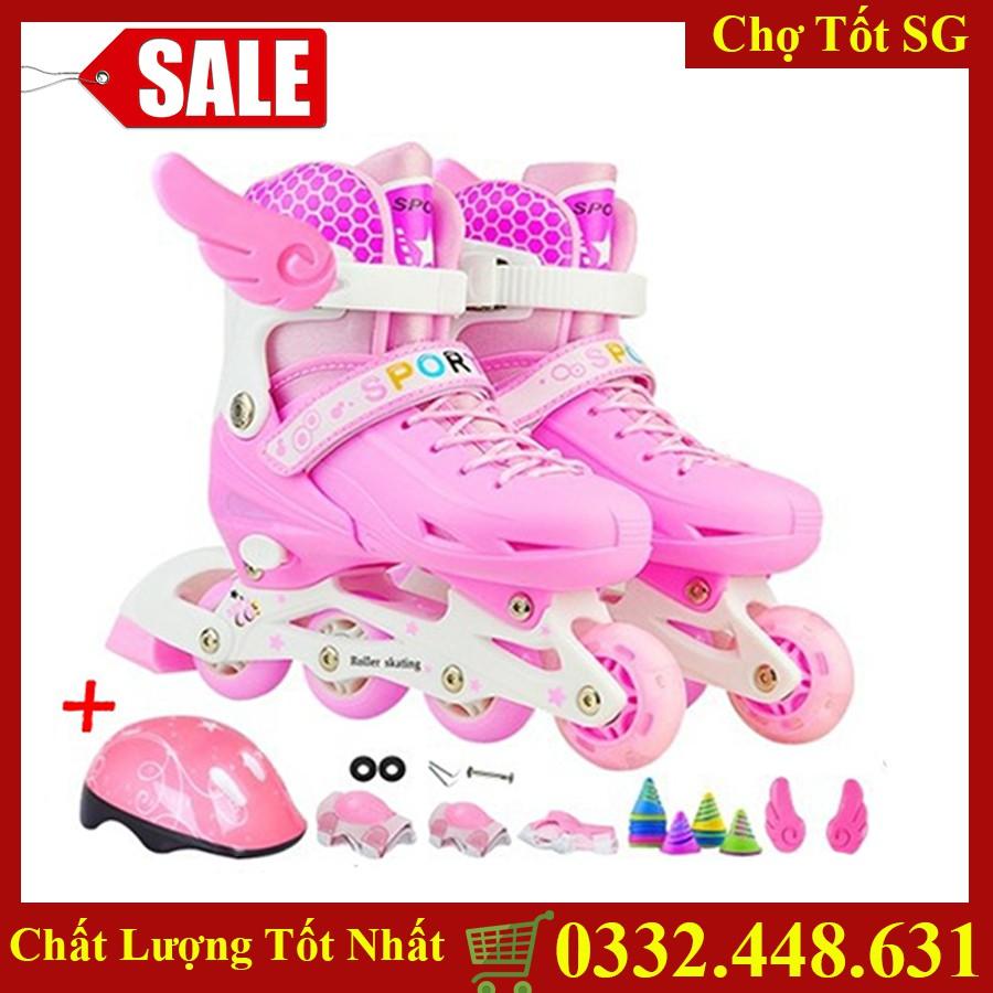✔️ Giày Trượt Patin Sport Trẻ Em Cao Cấp, An Toàn Cho Bé - Đủ Màu, Đủ Size [Bảo Hành 1 Đổi 1]