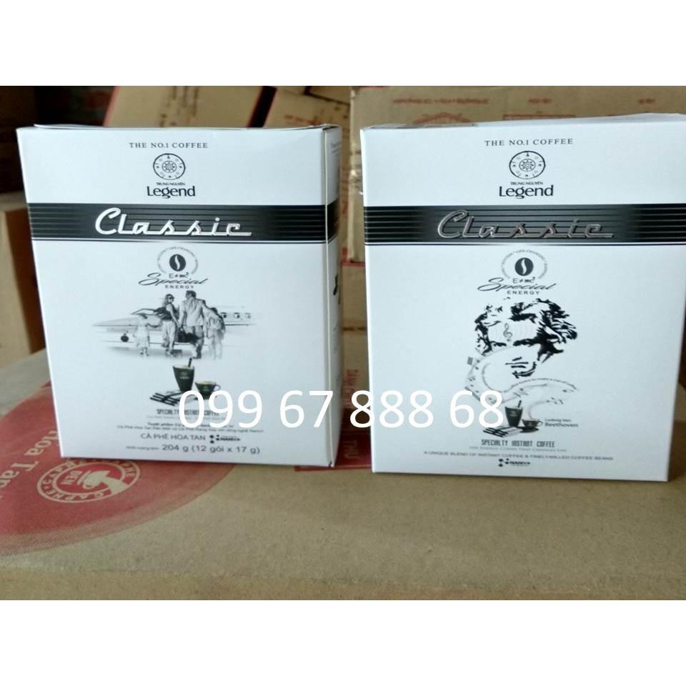 Cà phê hòa tan Legend Classic  - Trung Nguyên loại hộp 12 gói