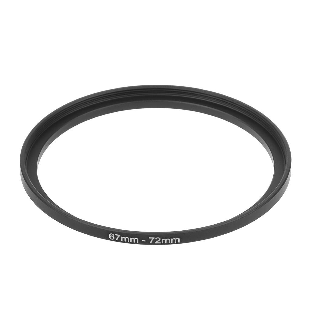 Vòng chuyển tăng kích cỡ từ 67-72mm bằng kim loại dành cho ống kính máy ảnh