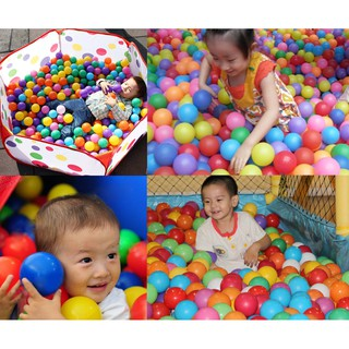 100pcs 5.5CM Baby Water Pool Ocean Wave Ball Toy