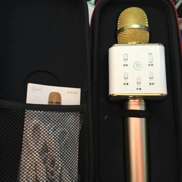 Mic karaoke Q7 3 in1
