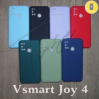 Ốp lưng Vsmart Joy 4 dẻo đơn màu Có gù bảo vệ camera