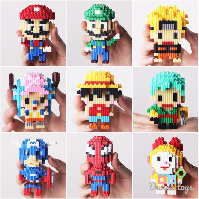 Đồ Chơi Lắp Ráp Luffy Lego Lingo 68120-68194 (2 mẫu)