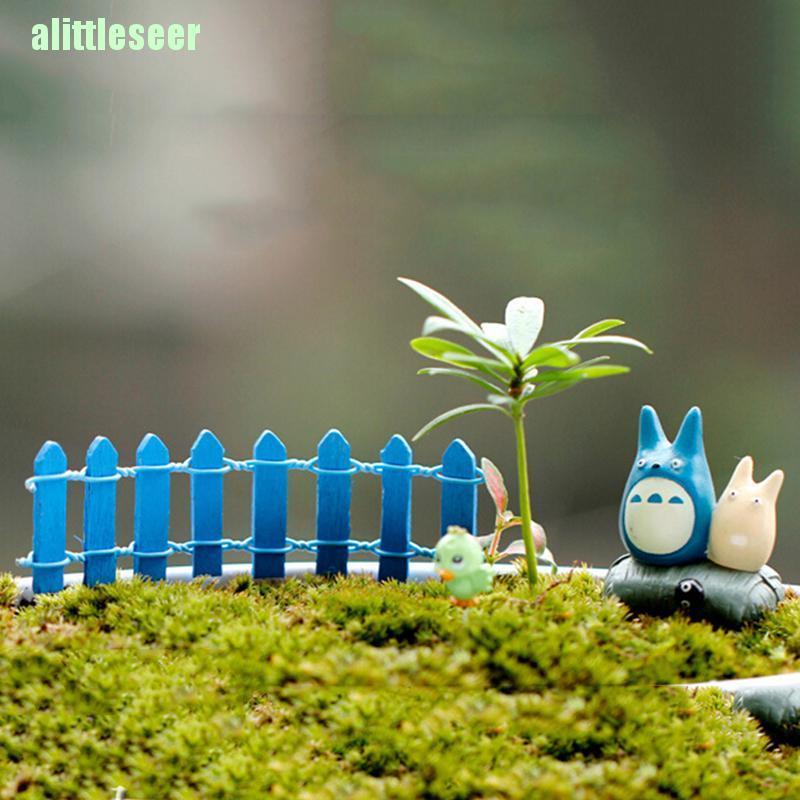 Mô Hình Hàng Rào Gỗ Mini Trang Trí Tiểu Cảnh