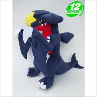 F&P Plush New Pokemon Garchomp Carchacrok Knakrack STUFFED TOY Doll 12″high