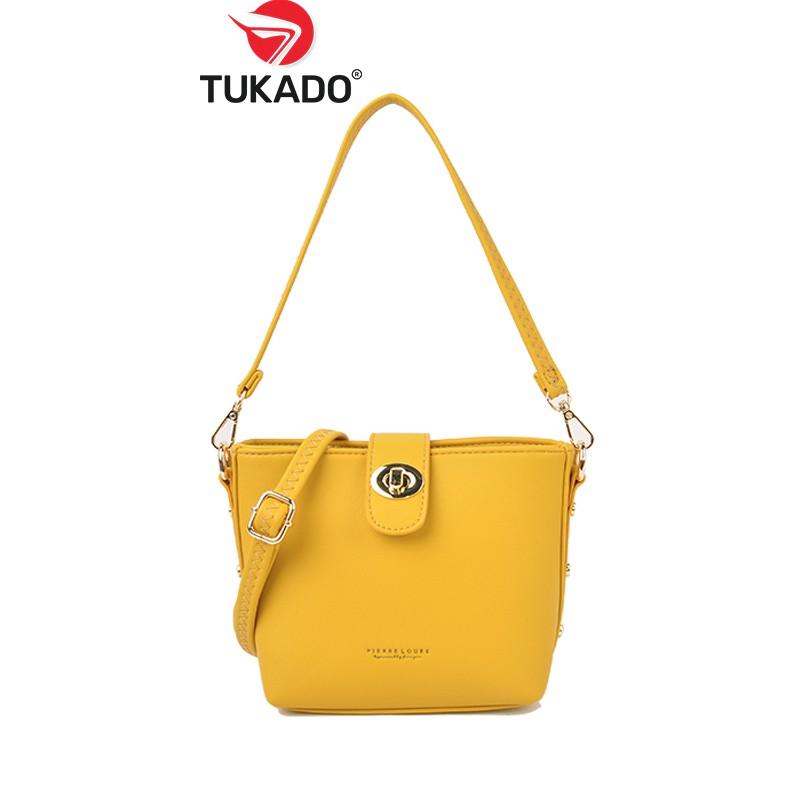 Túi Xách Nữ Đeo Chéo Kẹp Nách 𝐏𝐈𝐄𝐑𝐑𝐄 𝐋𝐎𝐔𝐄𝐒 Phong Cách Công Sở Thời Trang Mẫu Mới 2020 FY75 - Tukado