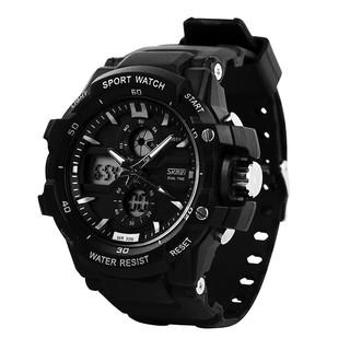 Đồng hồ nữ Skmei 0990 thể thao điện tử thời trang dây cao su cao cấp thumbnail