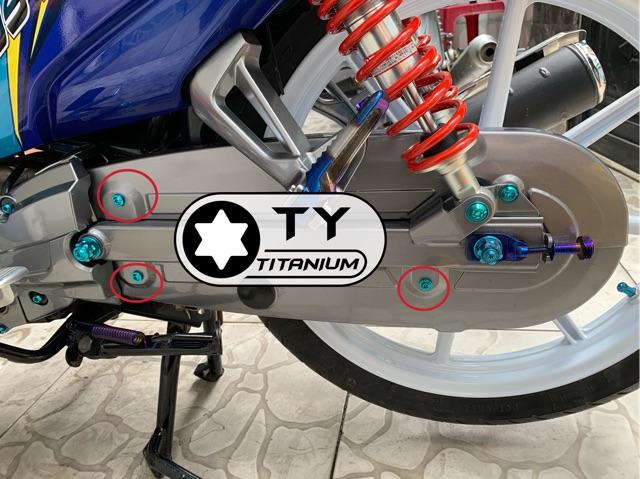 ỐC TITAN 5li10 DÙ GR5 bắt nhiều vị trí xe máy