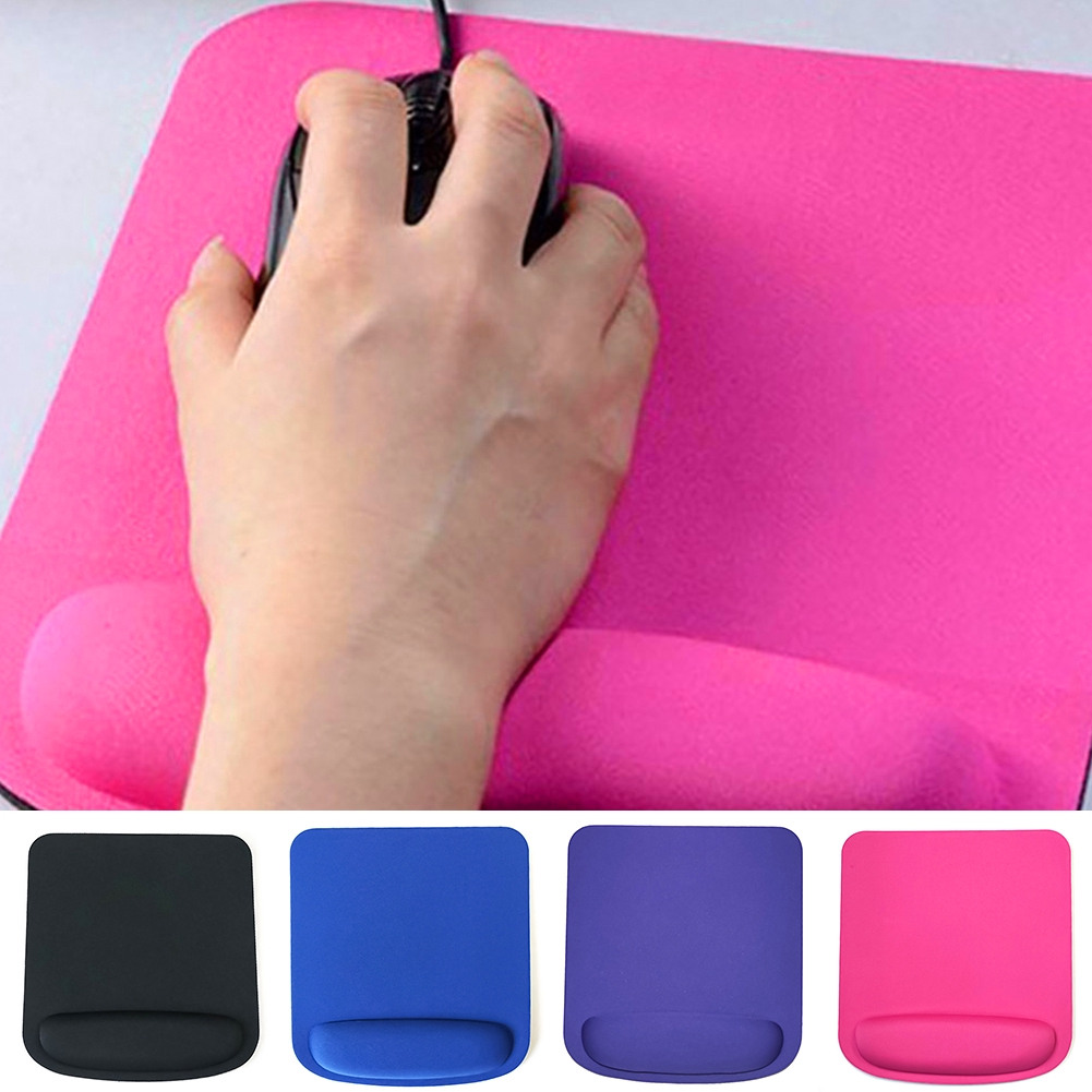 Sponge Mouse Mat Comfort Rest Wrist Support Pad Computer PC Laptop Giá chỉ 25.000₫