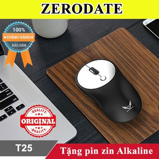 Chuột không dây Zerodate T25 Giảm 30k khi nhập MAYT30 - Chuột máy tính không dây thumbnail