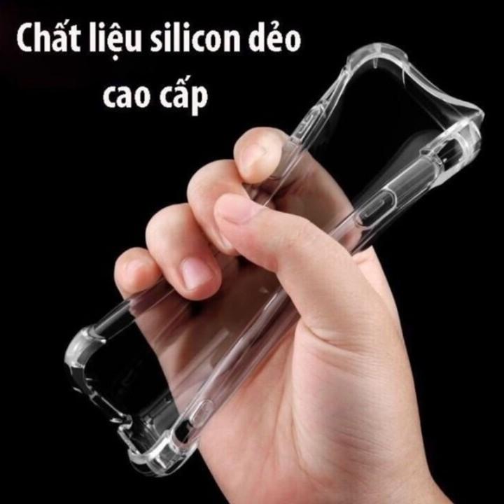 FREESHIP 99K TOÀN QUỐC Ốp Trong Suốt Bảo Vệ 4 Cạnh Cho Tất Cả Iphone(iphone 6 -Iphone XS MAX)
