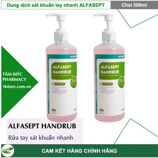 Nước rửa tay ALFASEPT HANDRUB [Chai 500ml] thumbnail