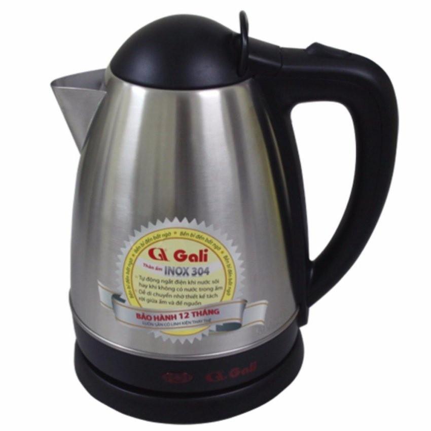 Ấm siêu tốc Gali GL-0018C 1800W ( bạc)