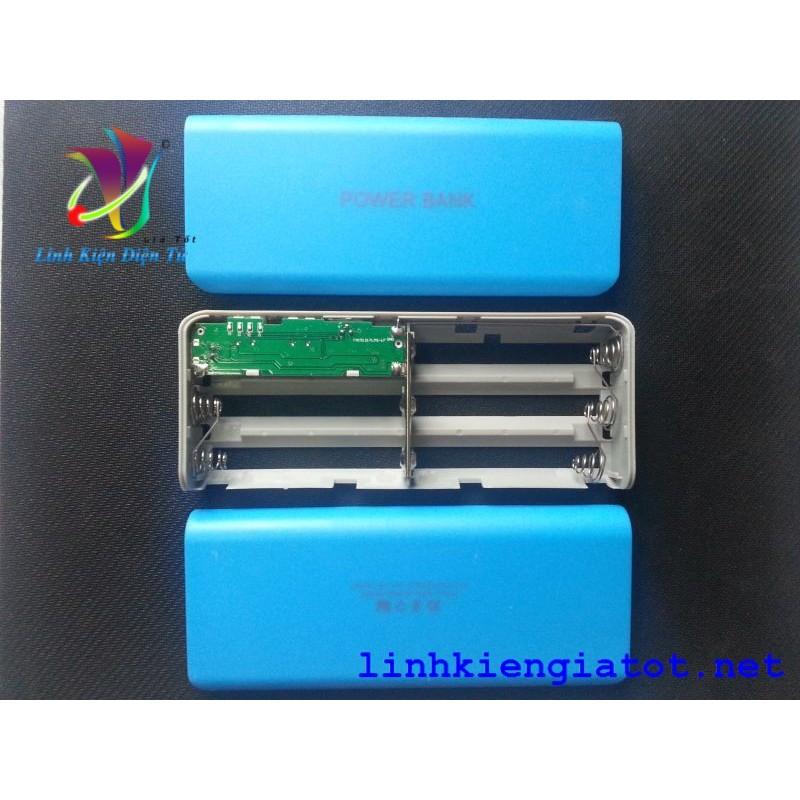 Box sạc dự phòng 5 cell power bank V2 (không pin)
