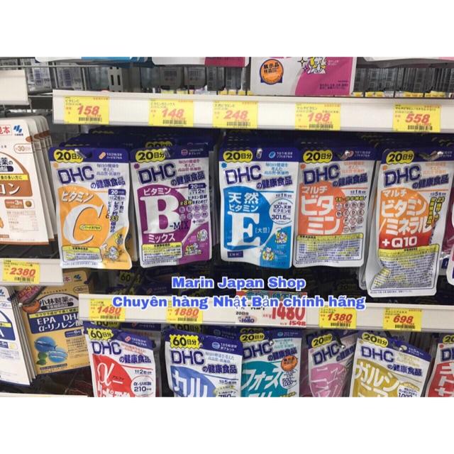 Viên uống bổ sung vitamin C, B, E của D H C Nhật Bản 20 ngày - 3510472 , 1261870423 , 322_1261870423 , 70000 , Vien-uong-bo-sung-vitamin-C-B-E-cua-D-H-C-Nhat-Ban-20-ngay-322_1261870423 , shopee.vn , Viên uống bổ sung vitamin C, B, E của D H C Nhật Bản 20 ngày
