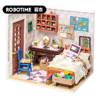 Mô hình nhà búp bê bằng gỗ (Tặng dụng cụ + keo) – Mô hình lắp ráp Robotime DGM 008