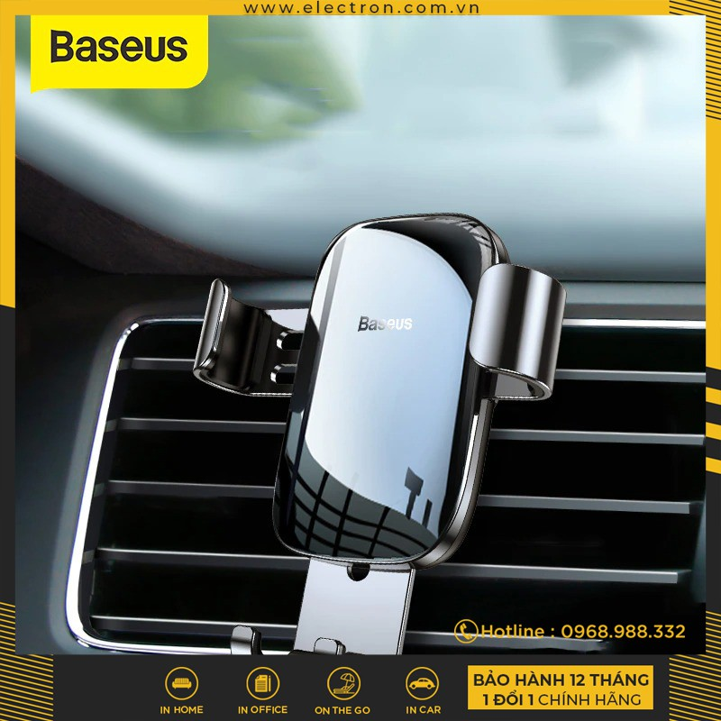 [Mã ELFLASH5 giảm 20K đơn 50K] Đế giữ điện thoại trên xe Ô Tô Baseus Glaze Gravity Car Mount