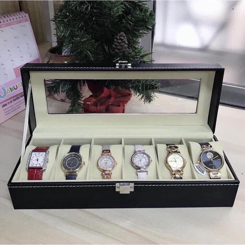 HOT Hộp đựng đồng hồ 20 ngăn  hộp đựng đồng hồ đeo tay