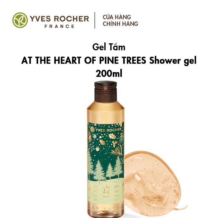 Sữa tắm Yves Rocher At The Heart Of Pine Trees 200ml