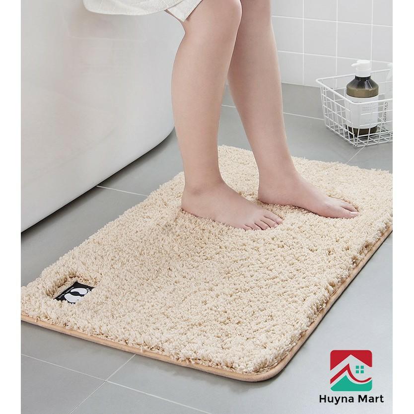 [Loại 1]Thảm chùi chân❤️thảm  lau chân❤️chống trượt kháng khuẩn - chống trơn nhà tắm nhà vệ sinh thấm hút 40*60cm