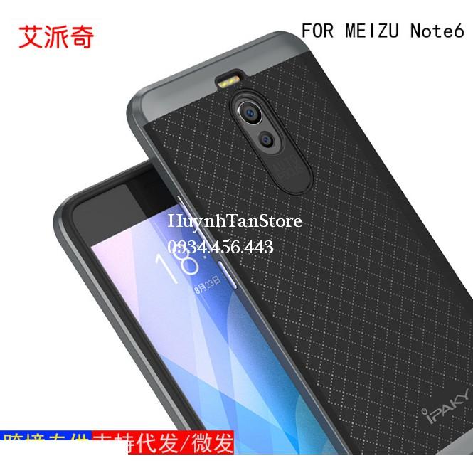 Meizu M6 Note _ Ốp chống sốc chính hãng Ipaky sản xuất bao check