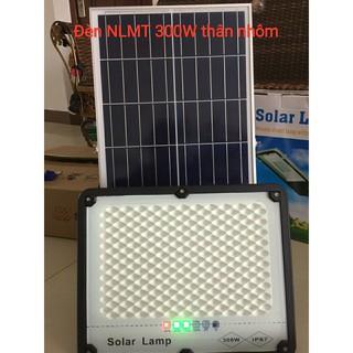 Đèn pha năng lượng mặt trời 300W vỏ nhôm tấm pin 35*60