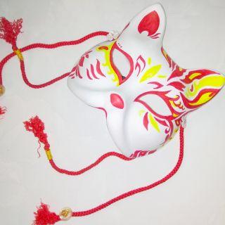 mặt nạ mèo vẽ