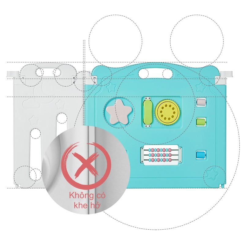 [Mã SKAMSALEP6 giảm 10% tối đa 100K đơn 150K] Quây Cũi Nhựa Cho Bé - KUB - Nhựa HDPE An Toàn