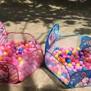 combo lều kitty , 100 bóng, lều công chúa, bể bơi 1m5, 2 chùm bóng nước 111 quả siu rẻ