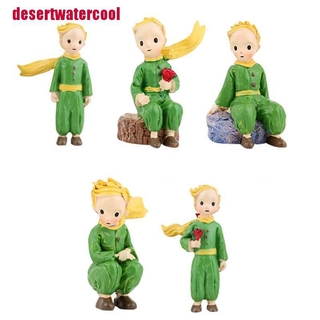 [desertwatercool]1pcs Little Prince Statues Decorative Figurine Christmas Fairy Tale Resin Toys