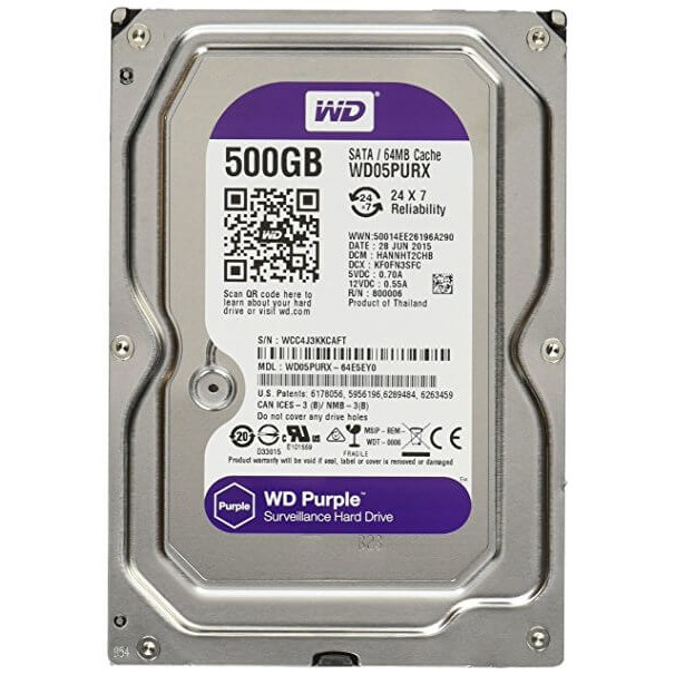 Ổ cứng WD 500GB mới