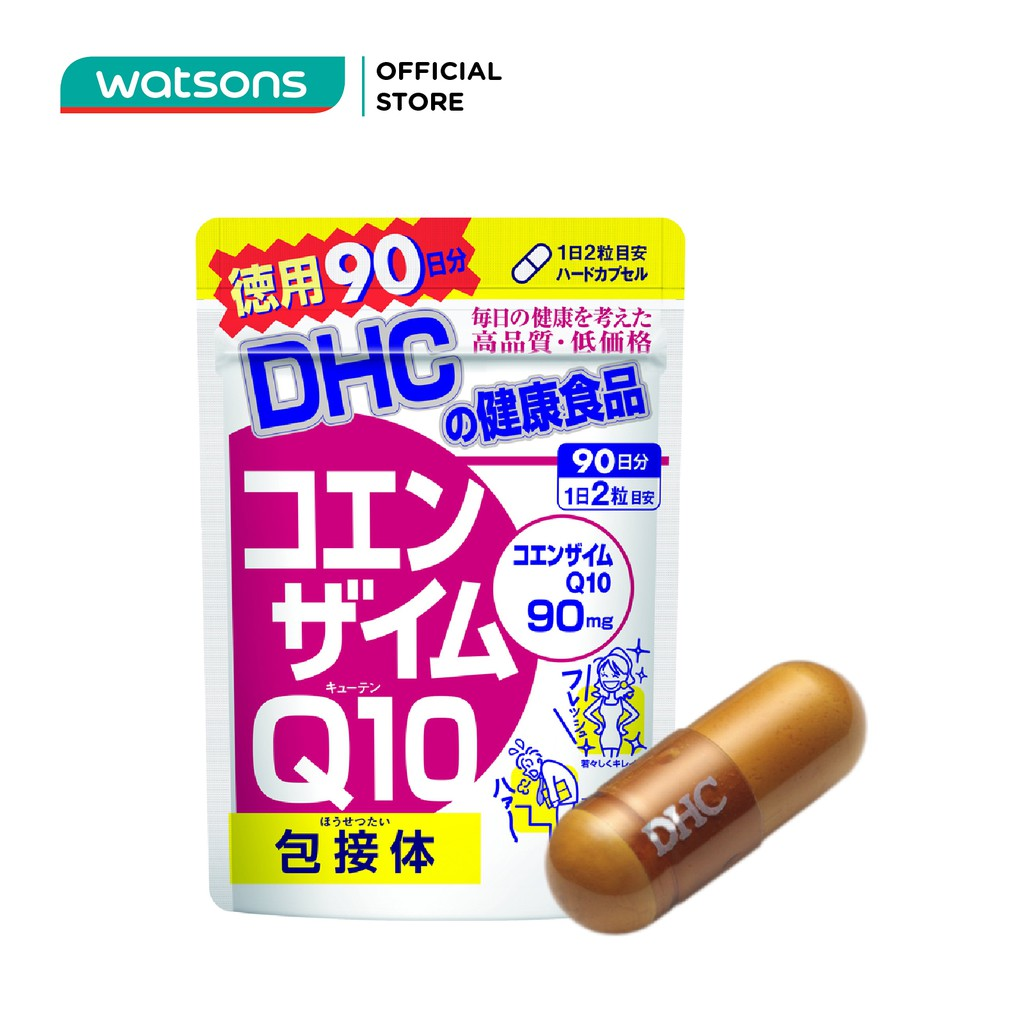 Thực Phẩm Bảo Vệ Sức Khỏe DHC Coenzyme Q10 (Γ-Cyclodextrin Complex) Hard Capsule Viên Nang Cứng 180 viên/túi