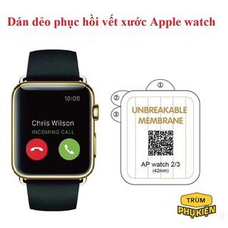 Miếng Dán Màn Hình Mặt Trước PPF Dành Cho Apple Watch Series 1/2/3/4