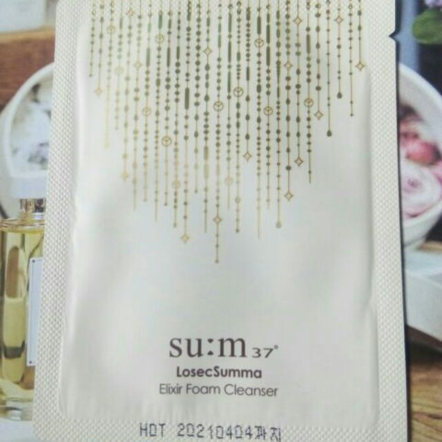 Sữa Rửa Mặt Chiết Xuất Vàng24k Sáng Mịn Da Su:m37
