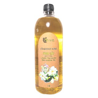 Dầu Massage Body Hoa Lài ACENA 1000ml Chuyên Dùng Spa, Trơn Tay, Mùi Hương Thư Giãn