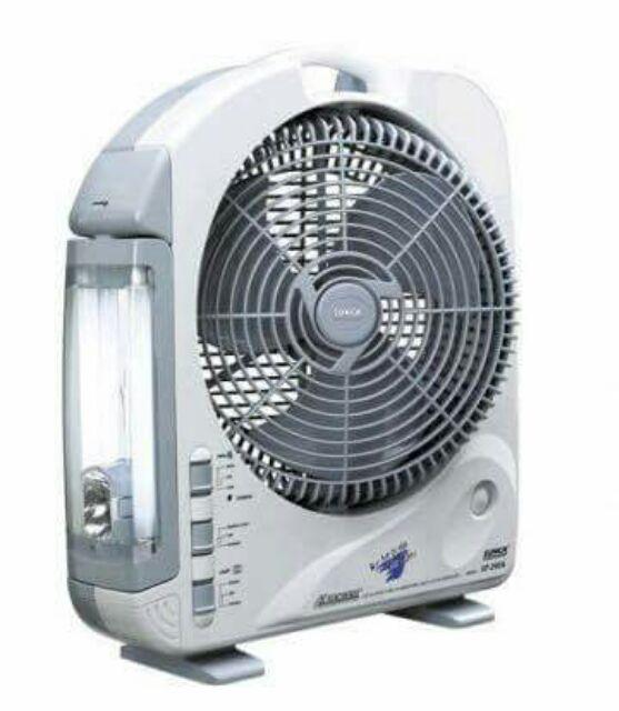 Quạt SUNCA SF-292AS hàng tích điện có thương hiệu trên thị trường.