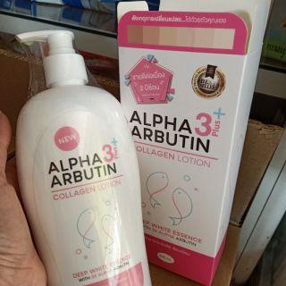 Dưỡng thể ALPHA 3 ARBUTIN Collagen LOTION 500ml thumbnail