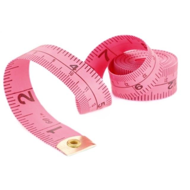 Thước dây may, đo chiều cao, đo 3 vòng giao màu ngẫu nhiên