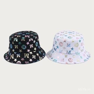 Nón Bucket Màu Trơn Phong Cách Hàn Quốc Cho Nữ