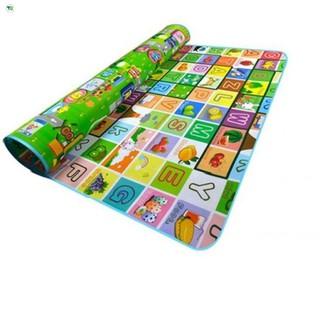 Thảm chơi 2 mặt Maboshi size 1,6mx2m chống nước, chống trơn cho bé Bán hết lấy vốn
